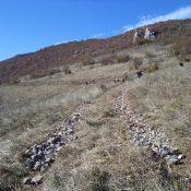Пътят към хранителната площадка за белоглави лешояди край с. Долно Озирово - готов за зимния сезон